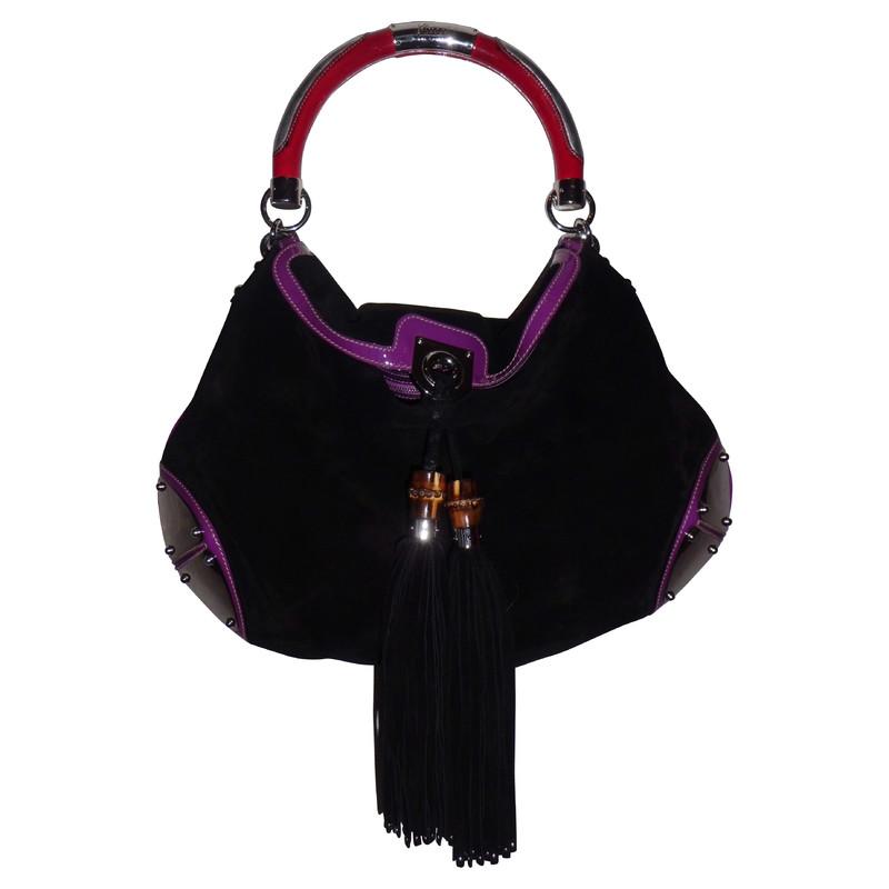 "Gucci ""Indi-bag"" in black"