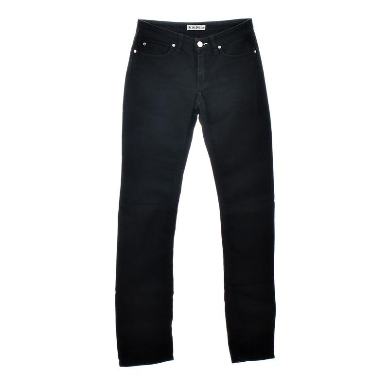"""Acne Jeans """"Hep Black Stretch"""""""