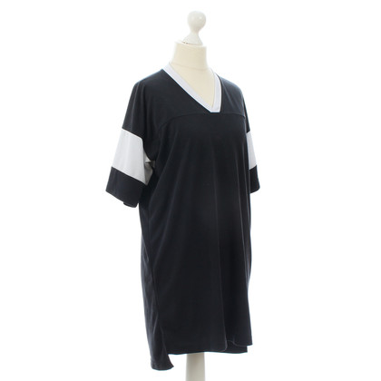 T by Alexander Wang Zweifarbiges Kleid