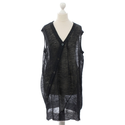 Dries van Noten Dark grey sweater vest