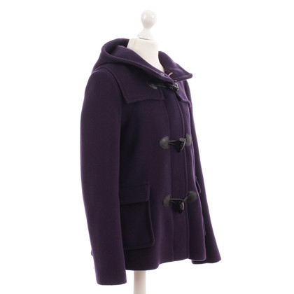 Burberry Duffle coat in violet