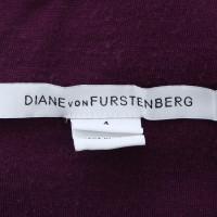 Diane von Furstenberg Lace dress in Eggplant