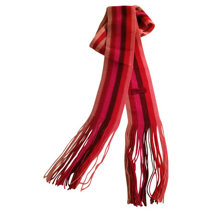Hugo Boss Narrow scarf in berries