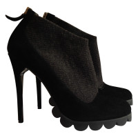 Pollini Suede Ankle Boots