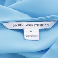 Diane von Furstenberg Haut bleu