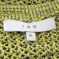 Iro Sweaters in the mesh design