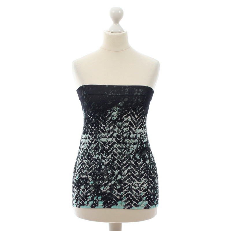 Lala Berlin Patterned bandeau top