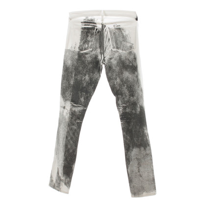 Helmut Lang Jeans with patterns