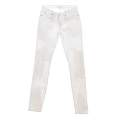 Helmut Lang White denim jeans