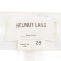 Helmut Lang White denim jeans