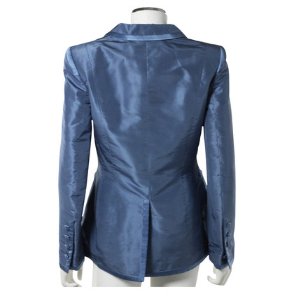 Rena Lange Noble blue silk Blazer