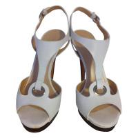 Casadei Witte sandaal