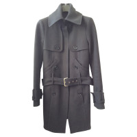 Patrizia Pepe Black wool coat