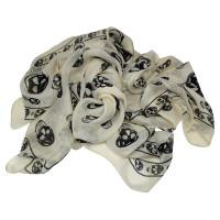 Alexander McQueen Cloth with skulls