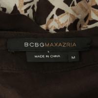 BCBG Max Azria Vestito a portafoglio con un motivo floreale