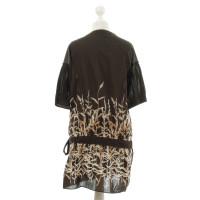 BCBG Max Azria Wickelkleid mit floralem Muster