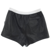 T by Alexander Wang Leather shorts