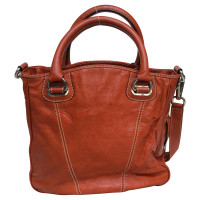 Etro Orange brown Ledershopper