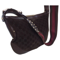 Gucci Guccissima leather bag with Horsebit details
