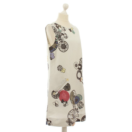 See by Chloé Kleid mit floralem Muster