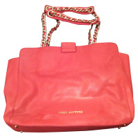 Juicy Couture Leder Shopper mit Nieten