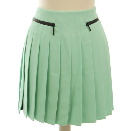 Versace Pleated skirt in mint Green
