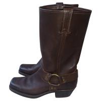 Frye Donkere bruine laarzen