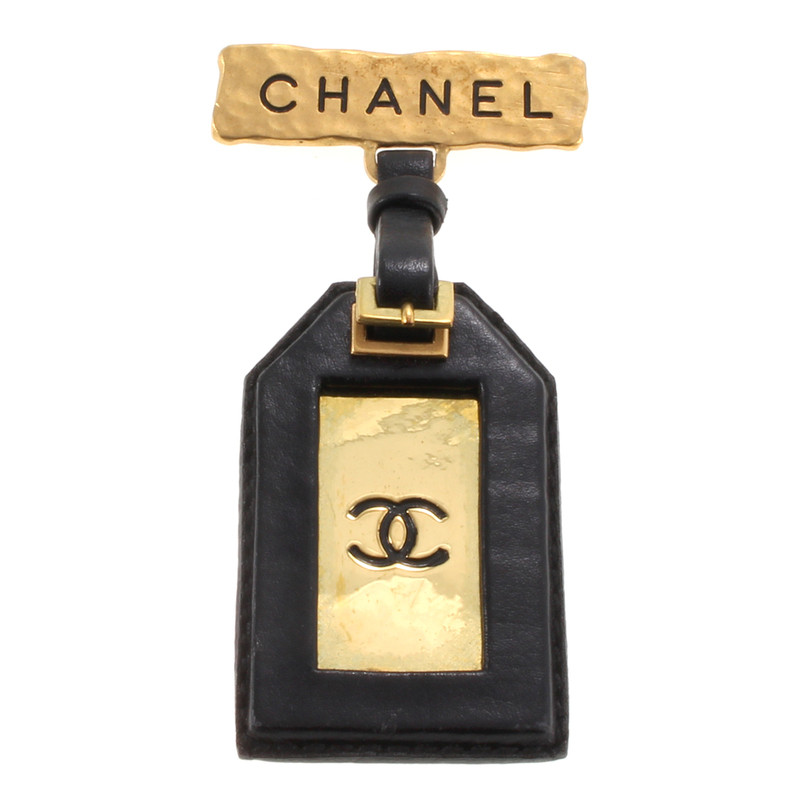 Chanel Brooch with ID tag