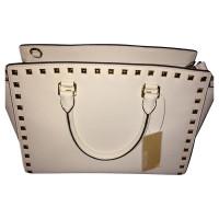 Michael Kors White bag with rivets