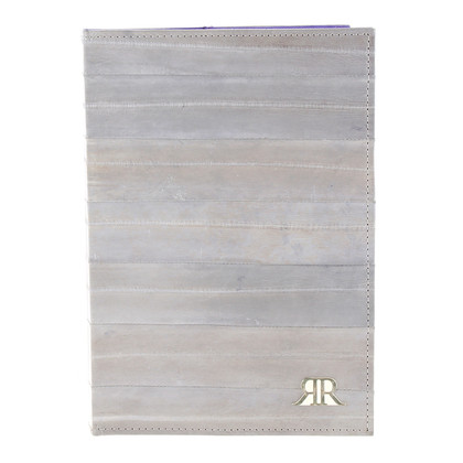 Other Designer Romanowski  – Agenda eel leather in grey