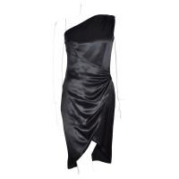 Escada Zijden jurk in het zwart