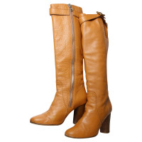 Chloé Brown leather boots