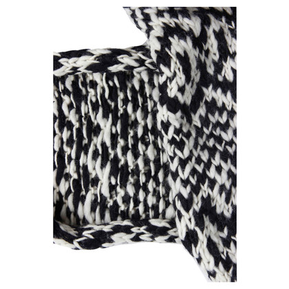 Isabel Marant for H&M Black and white scarf