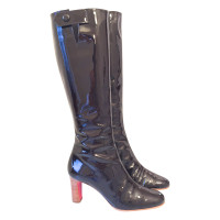 Christian Louboutin  Patent leather boots