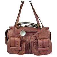 Chloé Burgundy Red leather bag