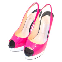 Christian Louboutin  Patent leather of high heels in pink