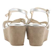 Autres marques Konstantin forte - sandales plateau en argent