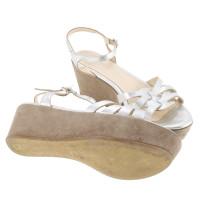 Other Designer Konstantin Starke - plateau sandals in silver
