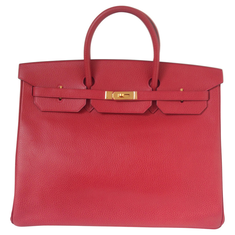 Hermès  Birkin bag in red