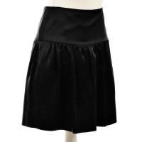 Hugo Boss Sweeping silk skirt