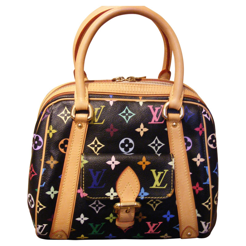 "Louis Vuitton ""Priscilla"" multicolor black"