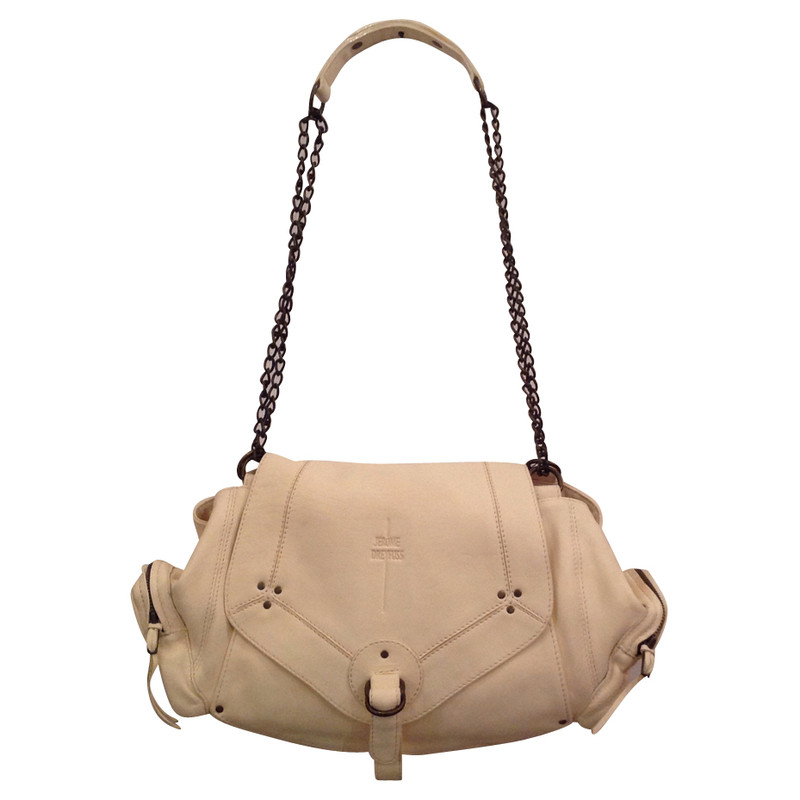 Jerome Dreyfuss Leather bag in ivory