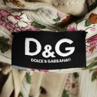 Dolce & Gabbana Tunic with leather details