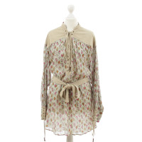 Dolce & Gabbana Tuniek met lederen details