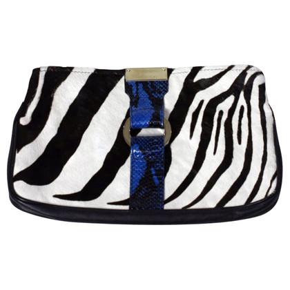 Jimmy Choo Bont koppeling met zebra-patroon
