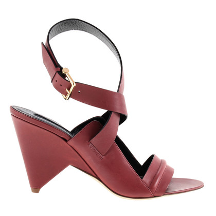 Derek Lam Leather sandals in red