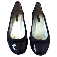 Dolce & Gabbana Lovertjes van Ballet flats in het zwart