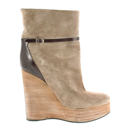 Chloé Wedges with material mix