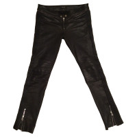 Isabel Marant Black leather pants
