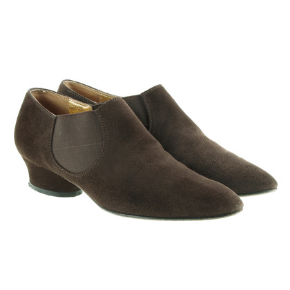 Walter Steiger Brown ankle boots